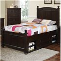 New Classic Canyon Ridge Full Panel Bed with Storage - Item Number: 05-230-410+420+430+598