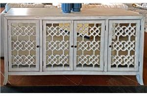 New Classic Charlotte Four Door Credenza