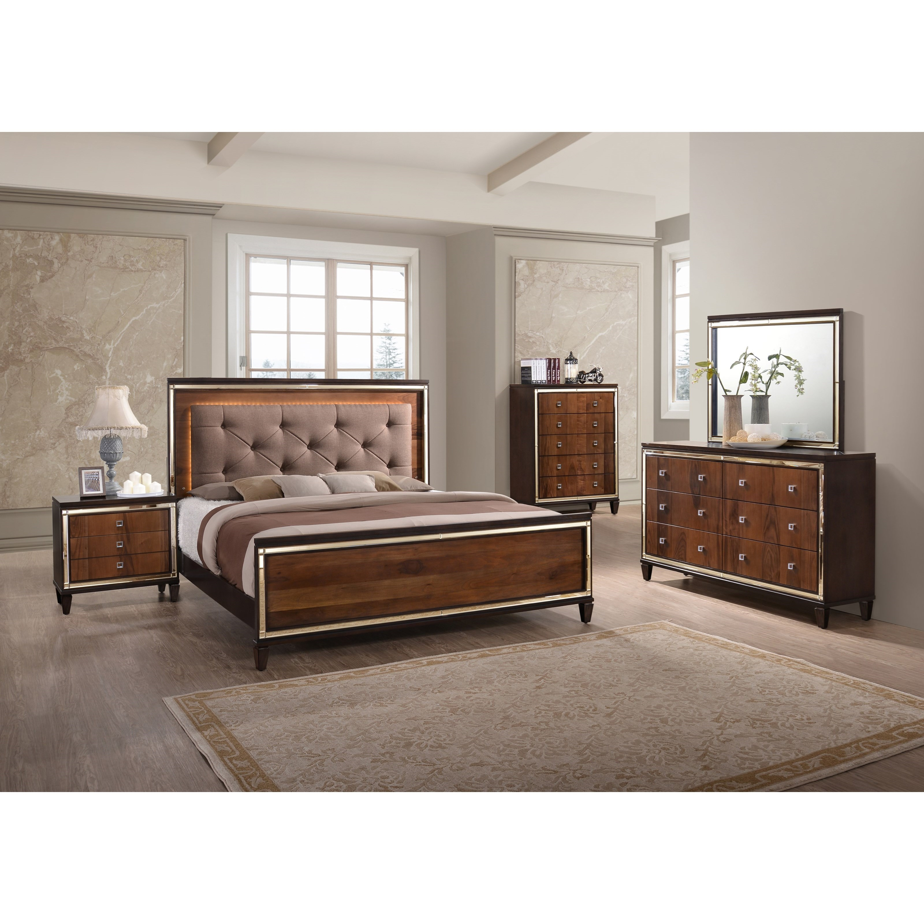 New Classic Claire King Bedroom Group - Item Number: B9720 K Bedroom Group 1