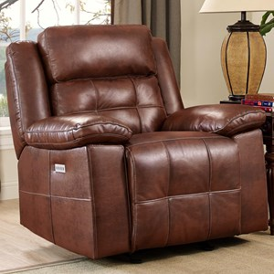 New Classic Clayton Power Glider Recliner