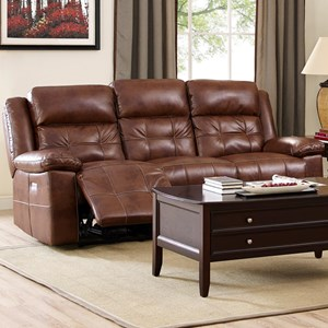 New Classic Clayton Power Reclining Sofa