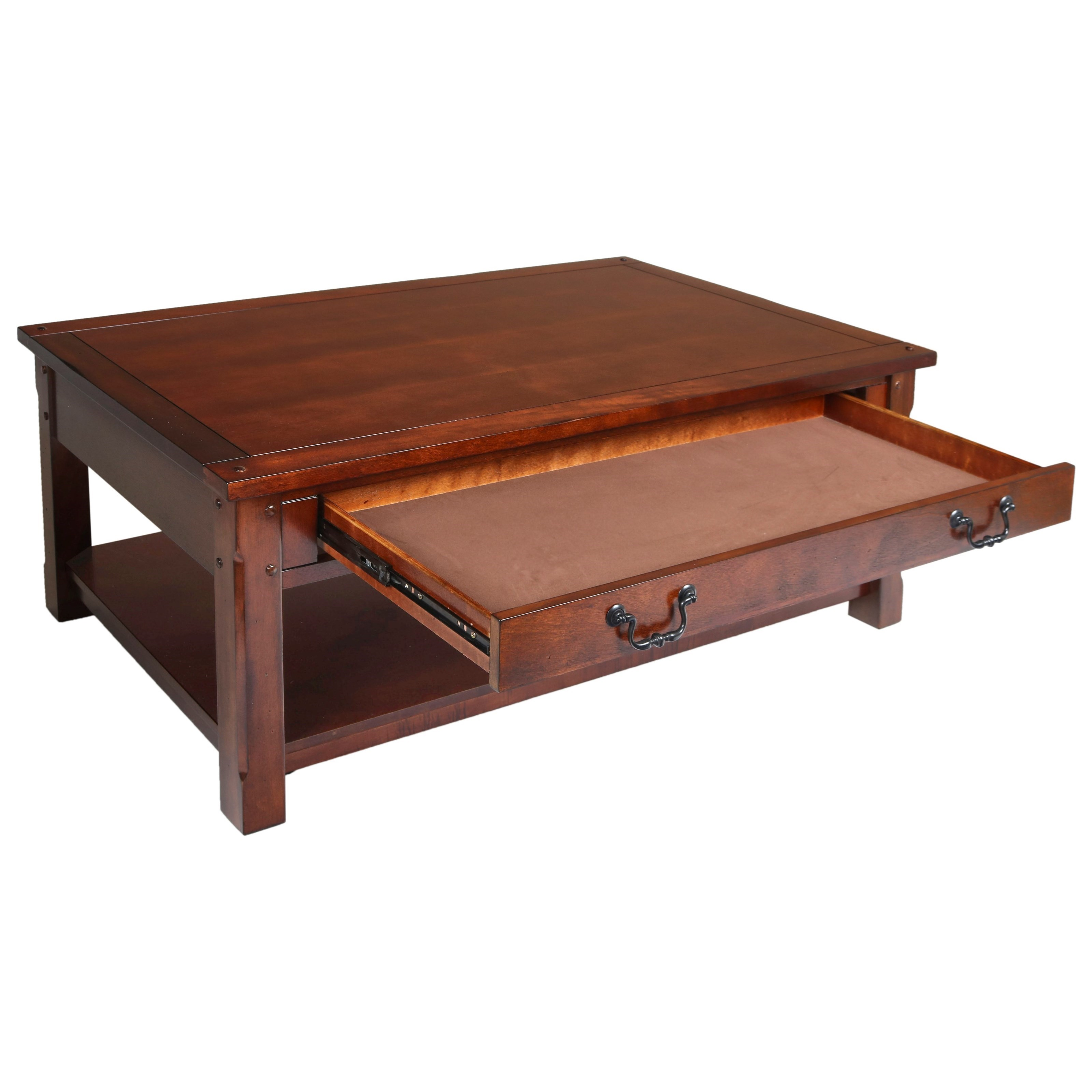 New Classic Corsica Cocktail Table With Drawer H L