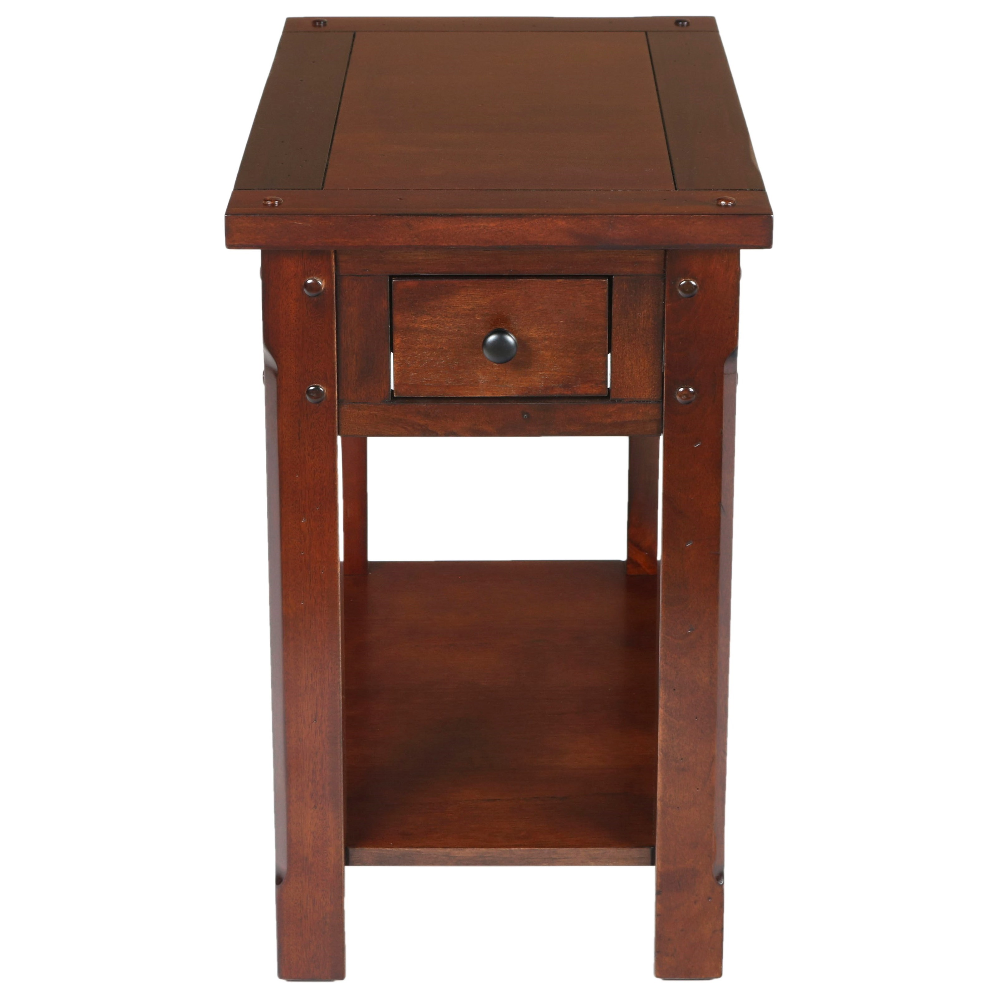 Ashley Furniture Horseheads Ny: New Classic Corsica Chairside Table With Drawer And Shelf