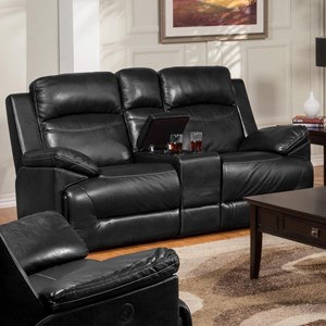 New Classic Cortez Power Glider Loveseat