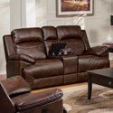 New Classic Cortez Glider Loveseat - Item Number: 20-244-23-PBW
