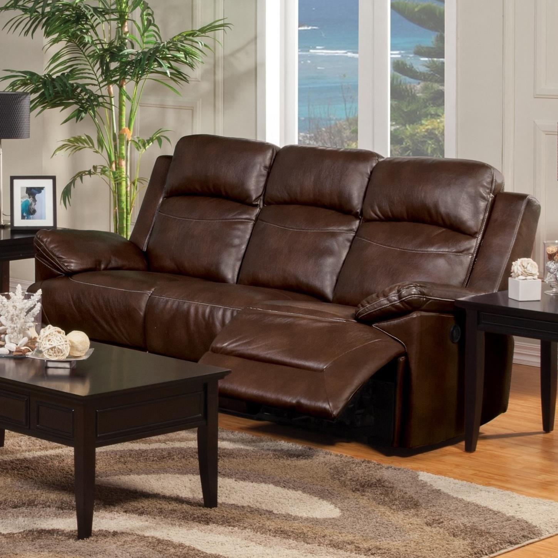 New Classic Cortez 20 244 30 Casual Dual Reclining Sofa