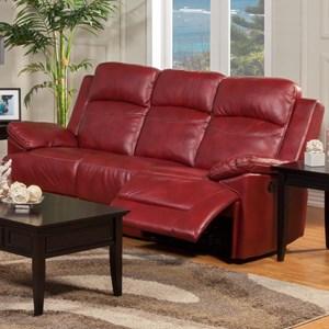 New Classic Cortez Dual Recliner Sofa