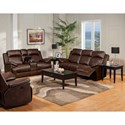 New Classic Cortez Power Reclining Living Room Group - Item Number: 244 Power Recl Living Room Group 1