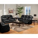 New Classic Cortez Power Reclining Living Room Group - Item Number: 244 Power Recl Living Room Group 2