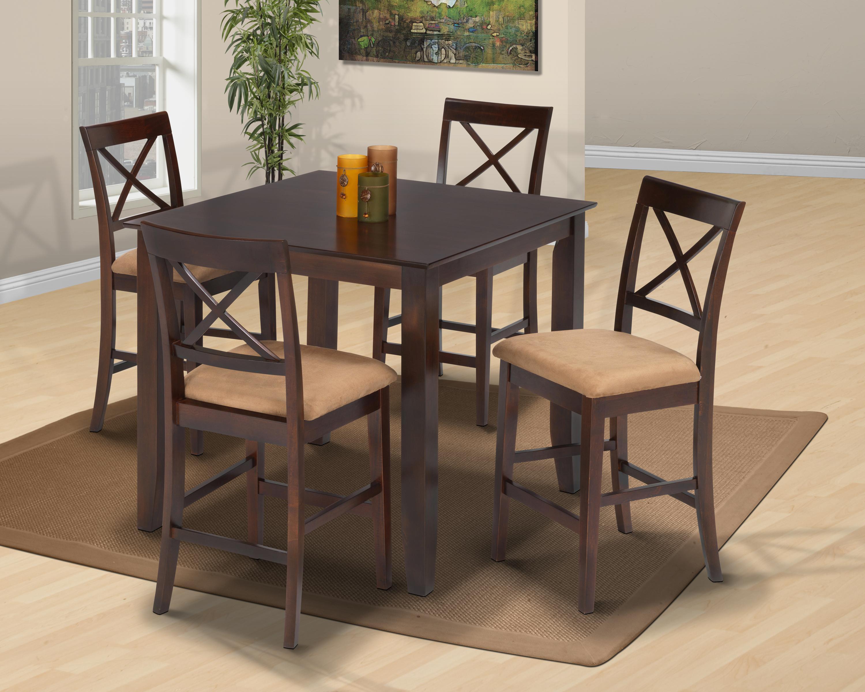 Crosswinds 5-Piece Counter Dining Set
