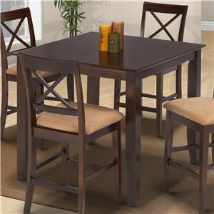 New Classic Crosswinds Crosswinds Counter Height Dining Table
