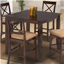 New Classic Crosswinds Crosswinds Counter Height Dining Table - Item Number: 04-1712-012