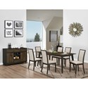 New Classic Studio 26 Formal Dining Room Group - Item Number: D2626 Dining Room Group 1