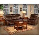 New Classic Dante Reclining Living Room Group - Item Number: L2041 Reclining Living Room Group 1