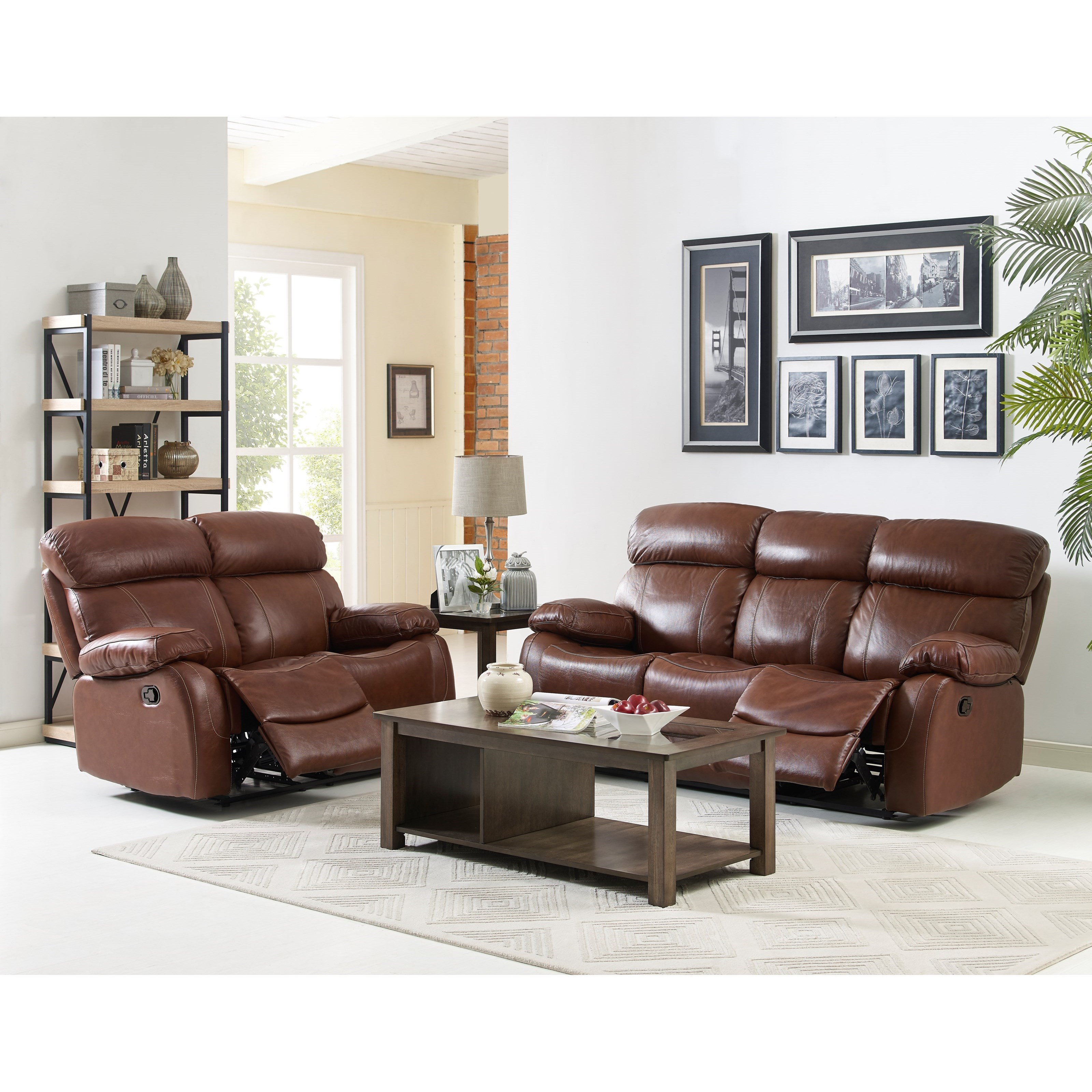 New Classic Dante Power Reclining Living Room Group - Item Number: L2041 Reclining Living Room Group 6