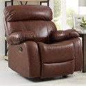 New Classic Dante Power Glider Recliner - Item Number: L2041-13P-LBN