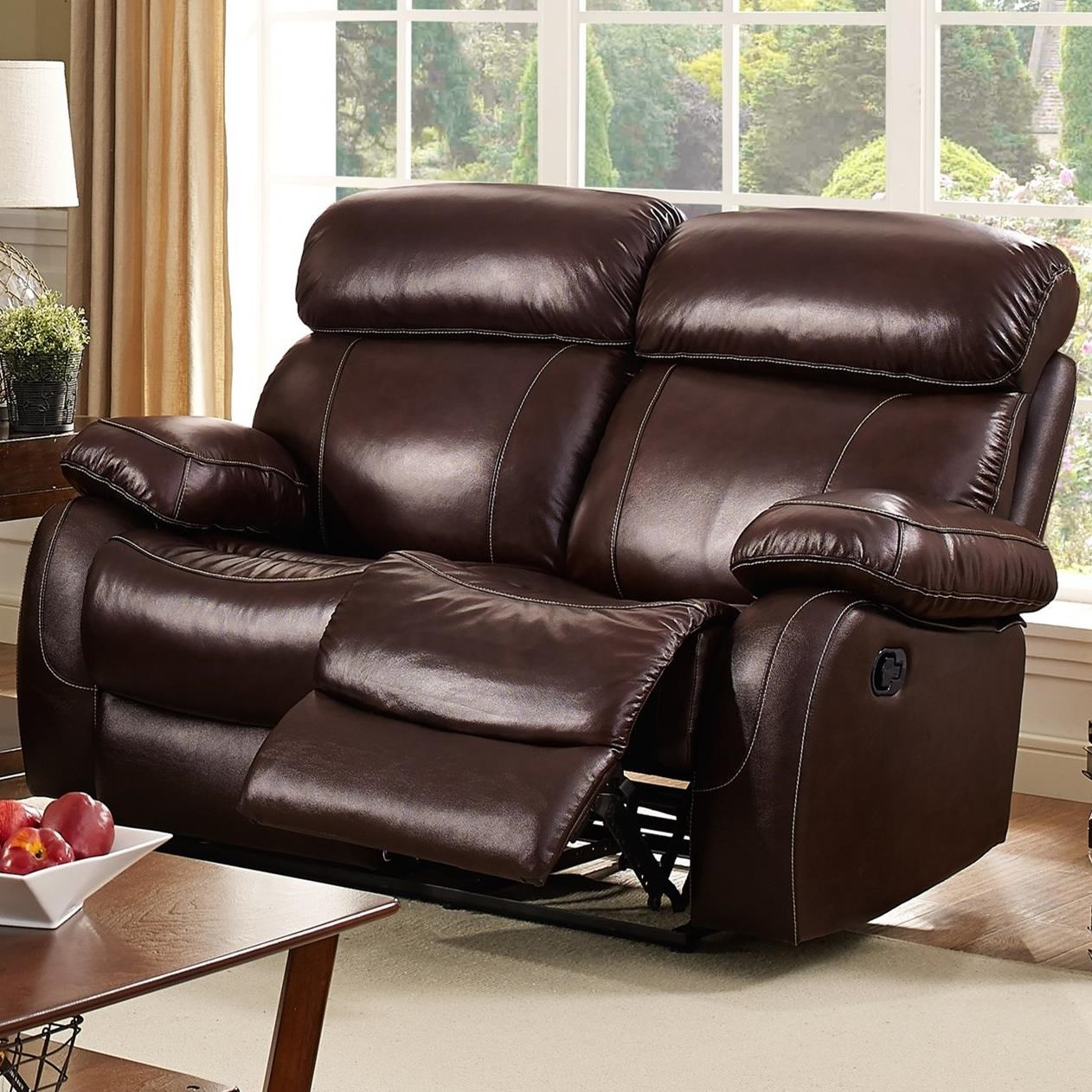 New Classic Dante Power Reclining Loveseat - Item Number: L2041-20P-BBN