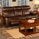 New Classic Dante Power Reclining Sofa - Item Number: L2041-30P-BBN