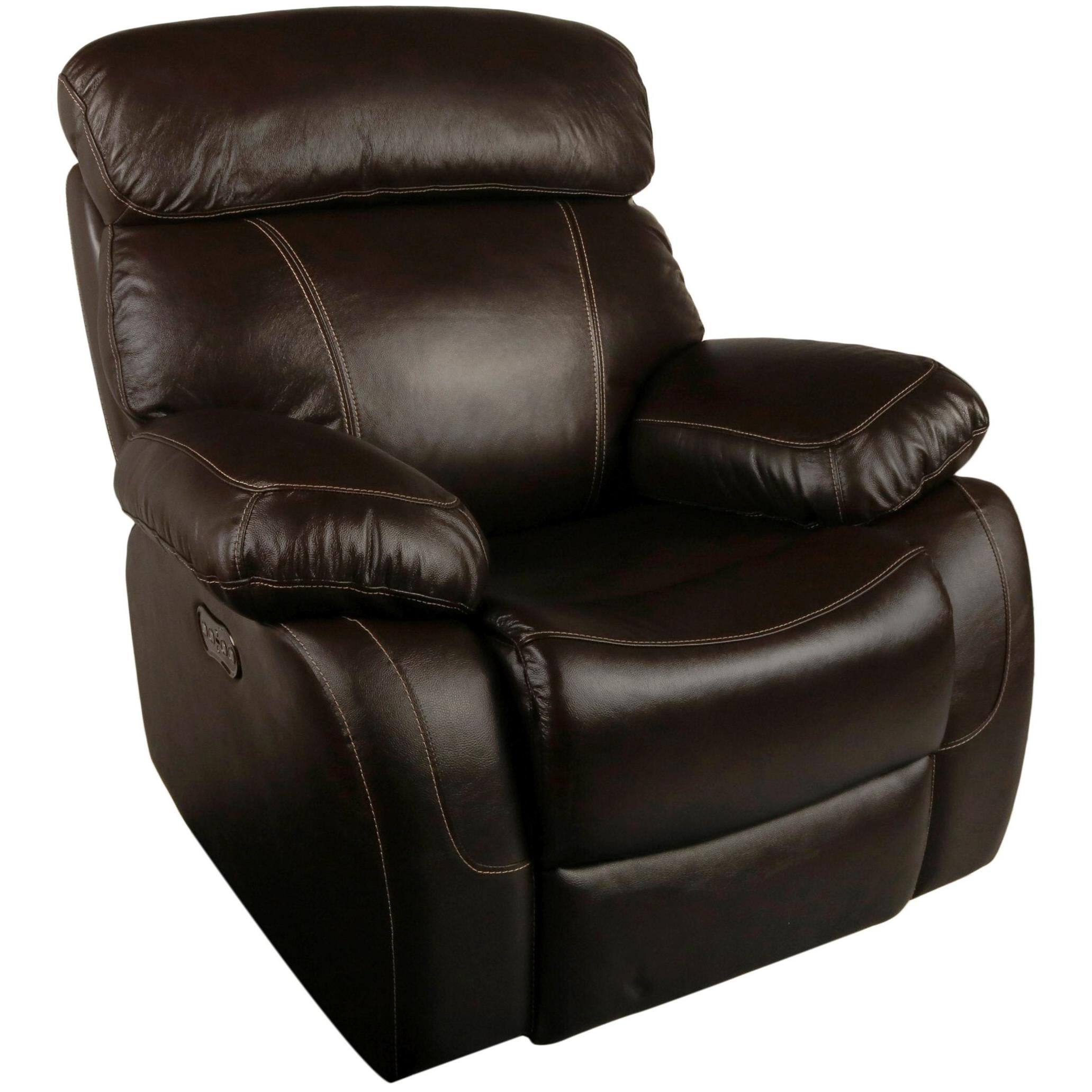New Classic Dante Leather Casual Power Recliner With Power