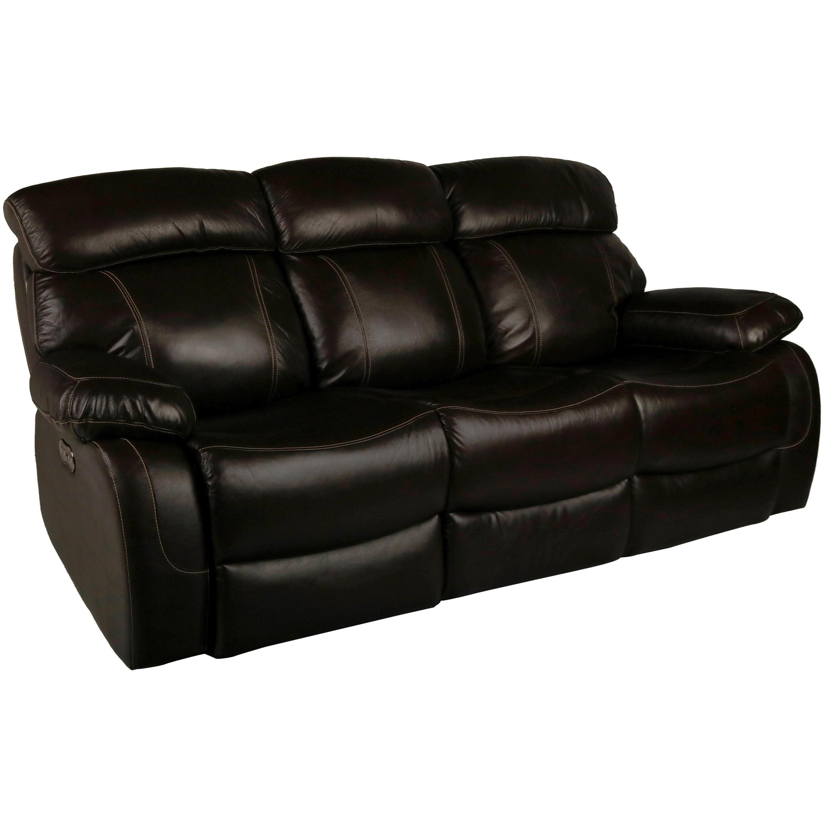 New Classic Dante Leather Casual Power Reclining Sofa With