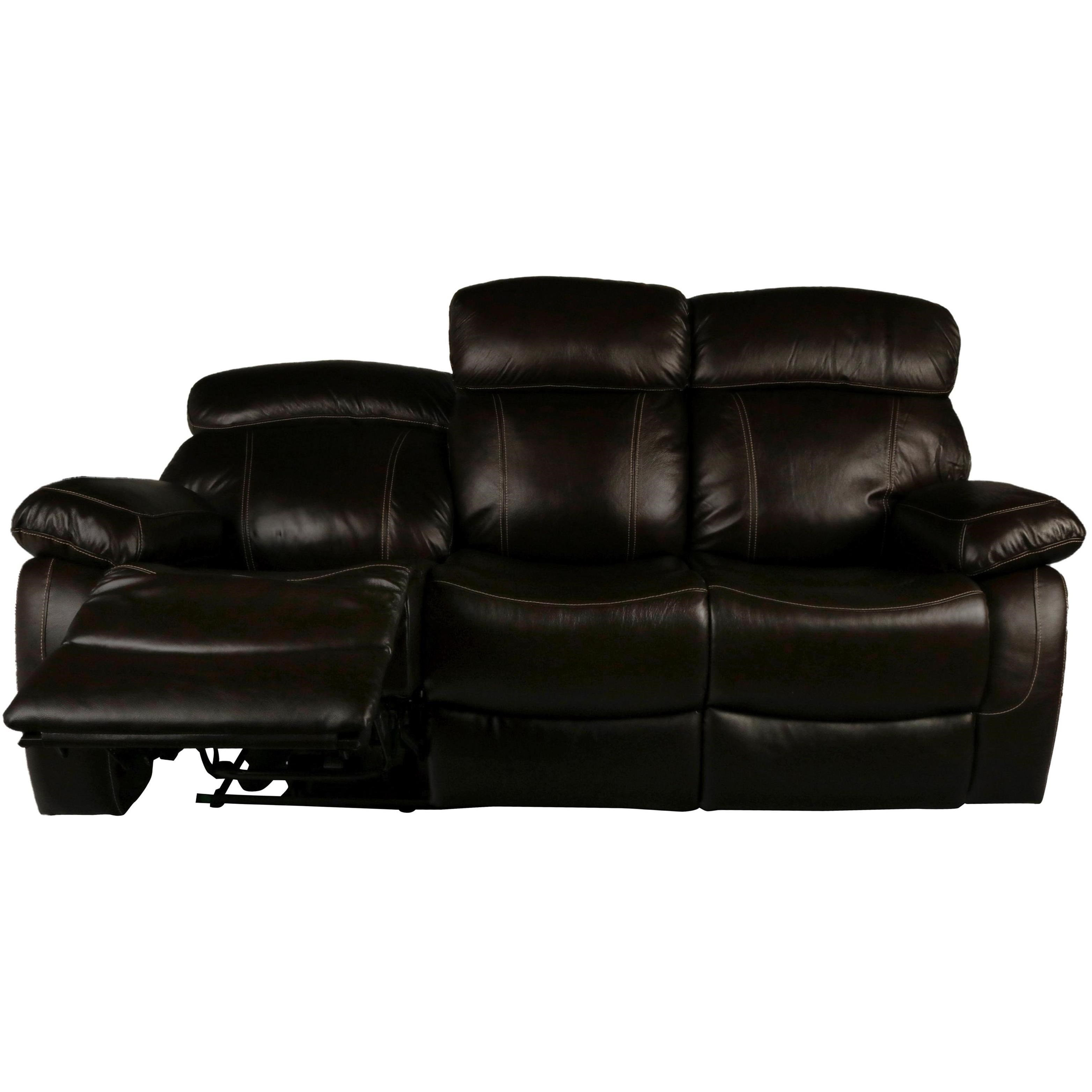 new classic dante leather casual power reclining sofa with power headrest