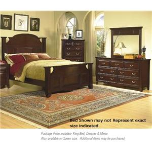 New Classic Drayton Hall 3PC King Bedroom