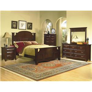 New Classic Drayton Hall 4 Piece Bedroom Group