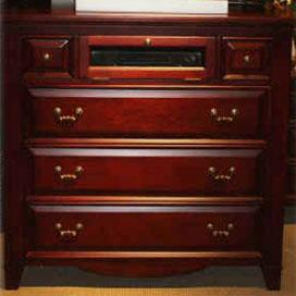 New Classic Drayton Hall 6 Drawer Media Chest - Item Number: 6740-078