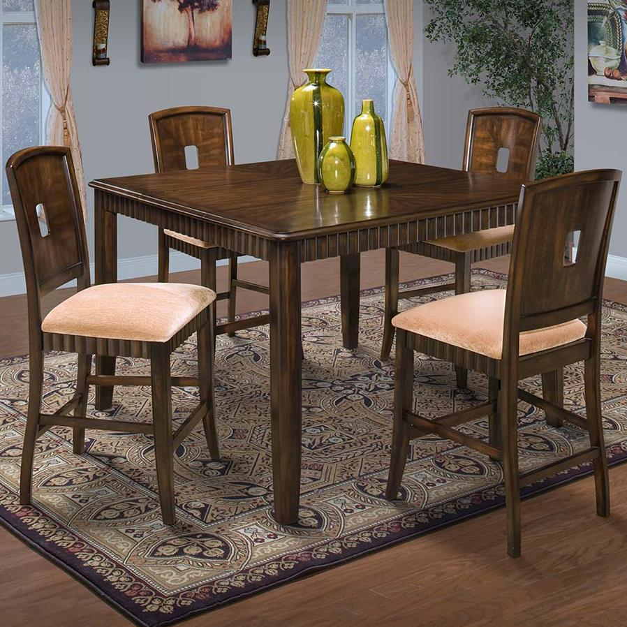Counter Dining Table and Chair Set