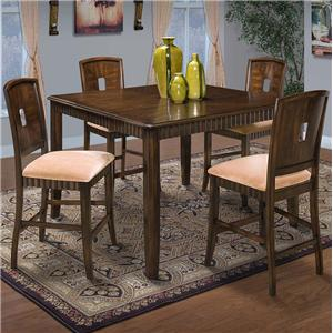 New Classic Edgemont Counter Dining Table and Chair Set