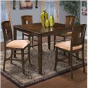 New Classic Edgemont Counter Dining Table and Chair Set - Item Number: 45-112-12+4x22