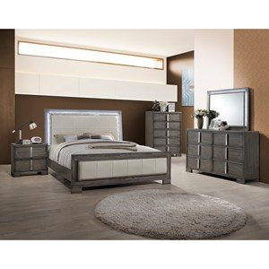 New Classic Edgewater King Bedroom Group