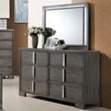 New Classic Edgewater Dresser and Mirror Set - Item Number: B9731-050+060