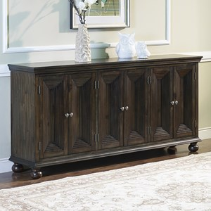 New Classic Ellis Six Door Credenza