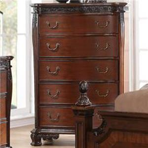 New Classic Elsa Chest of Drawers with 5 Drawers