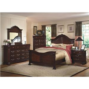 New Classic Emilie 4 Piece Bedroom Group