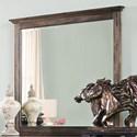 New Classic Fallbrook Dresser Mirror - Item Number: 00-446-060