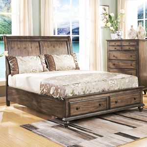 New Classic Fallbrook Queen Sleigh Bed