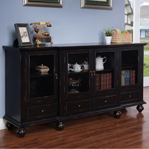 New Classic Hannah Four Door Credenza