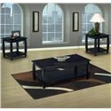 New Classic Harrison 3 Pack of Occasional Tables - Item Number: 03-0014-05-340