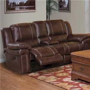 New Classic Hastings Traditional Duel Power Reclining Love Seat