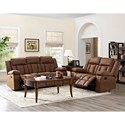 New Classic Hayes Reclining Living Room Group - Item Number: 2219 Reclining Living Room Group 1