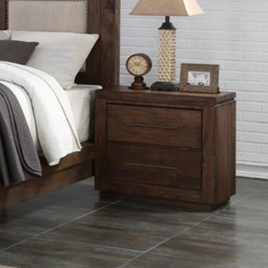 New Classic Heartstone Manor Nightstand with USB Port