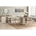 New Classic Heather Dining Room Group - Item Number: D1309 Dining Room Group 1