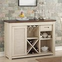 New Classic Heather Transitional Live Edge Server - Item Number: D1309-40