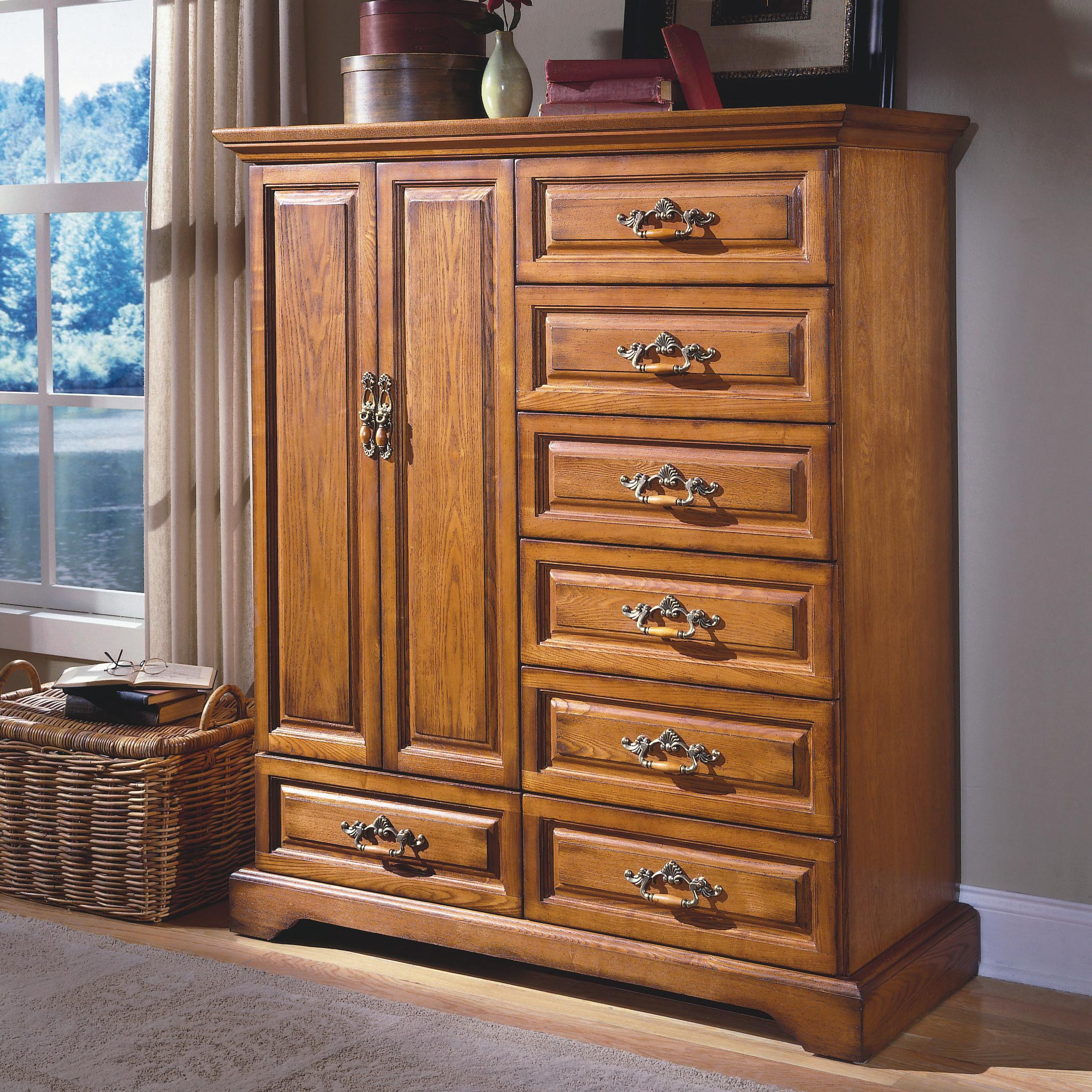 furniture kitchen cabinets new classic honey creek seven drawer magna chest with two 1133