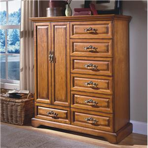 New Classic Honey Creek 7-Drawer Magna Door Chest