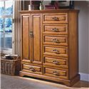 New Classic Honey Creek 7-Drawer Magna Door Chest - Item Number: 1133-073
