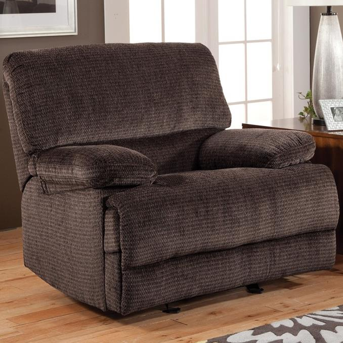 Casual Reclining Glider Recliner