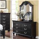 New Classic Jaquelyn 6 Drawer Dresser